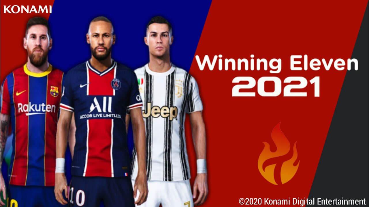 تحميل لعبه Winning Eleven 2021 للأندرويد