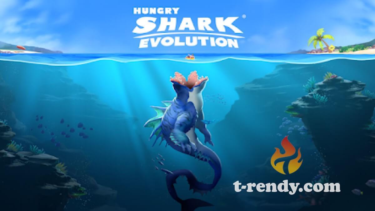 تحميل لعبة القرش الجائع مهكره 2021