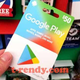 بطاقات جوجل بلاي مجانا 2021