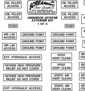 Lockheed JetStar Exterior Kit