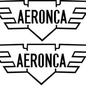 Aeronca Logo Decal PAIR