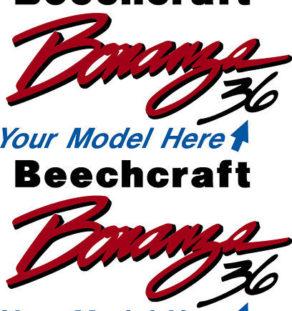beechcraft bonanza logo