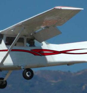 Aircraft Decals Graphics Stripes Scheme Airplane Cessna Piper RV