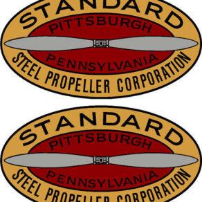 Hamilton Standard 1927-1931 Prop Propeller Decal (PAIR)