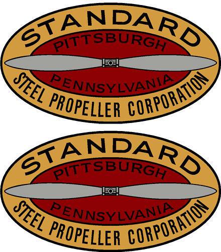 Hamilton Standard 1927-1931 Prop Propeller Decal (PAIR)