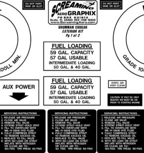 Grumman Cougar Exterior Kit