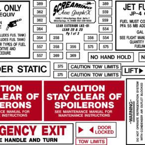 LearJet 20, 25 Series Exterior Kit