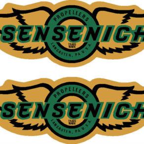Sensenich Prop Propeller Decal (PAIR)