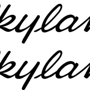 Cessna 182 Skylane Logo Decal PAIR (2)
