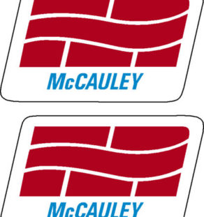 McCauley Prop Propeller Decal (PAIR)