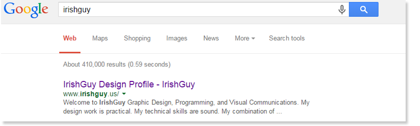 IrishGuy Asheville - ranks number one on Google