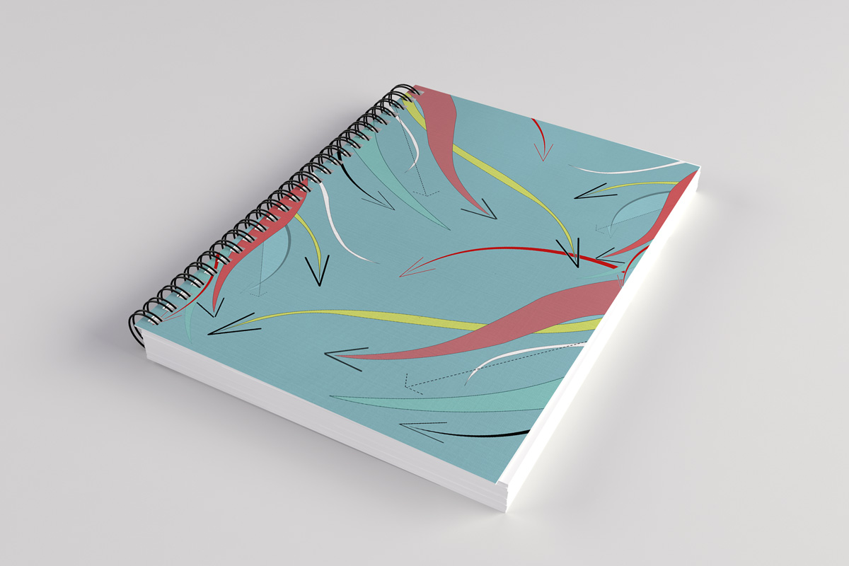 Graphic Design Notebook Cover