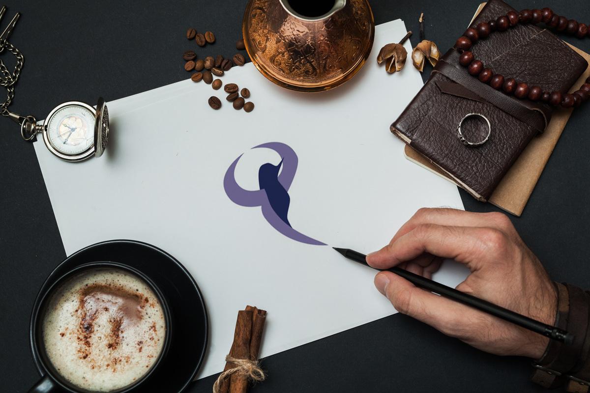 Hand Drawn Custom Logo Design Asheville