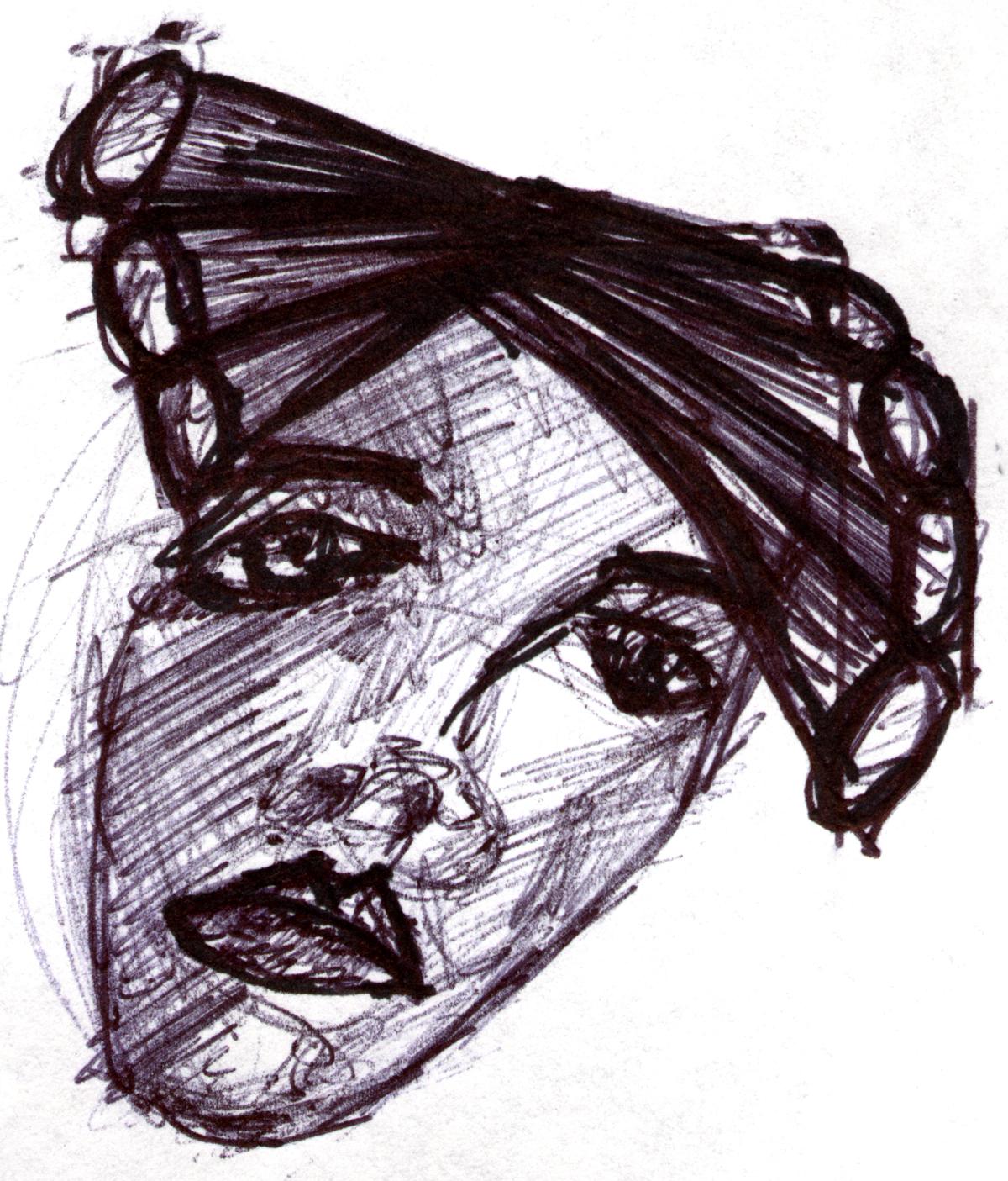 Drawing by Graphic Designer Gary Crossey