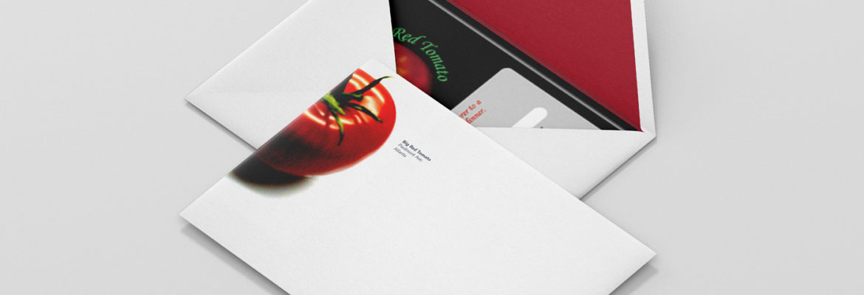 Envelope Design by Irishguy Design Studio Asheville NC