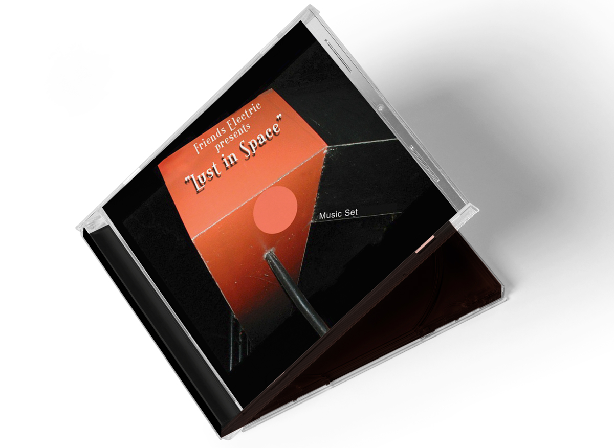 Graphic Design for CD Cover Package Design
