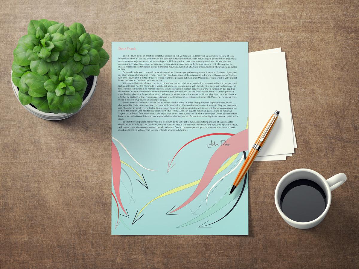 Asheville Small Business Letterhead Design