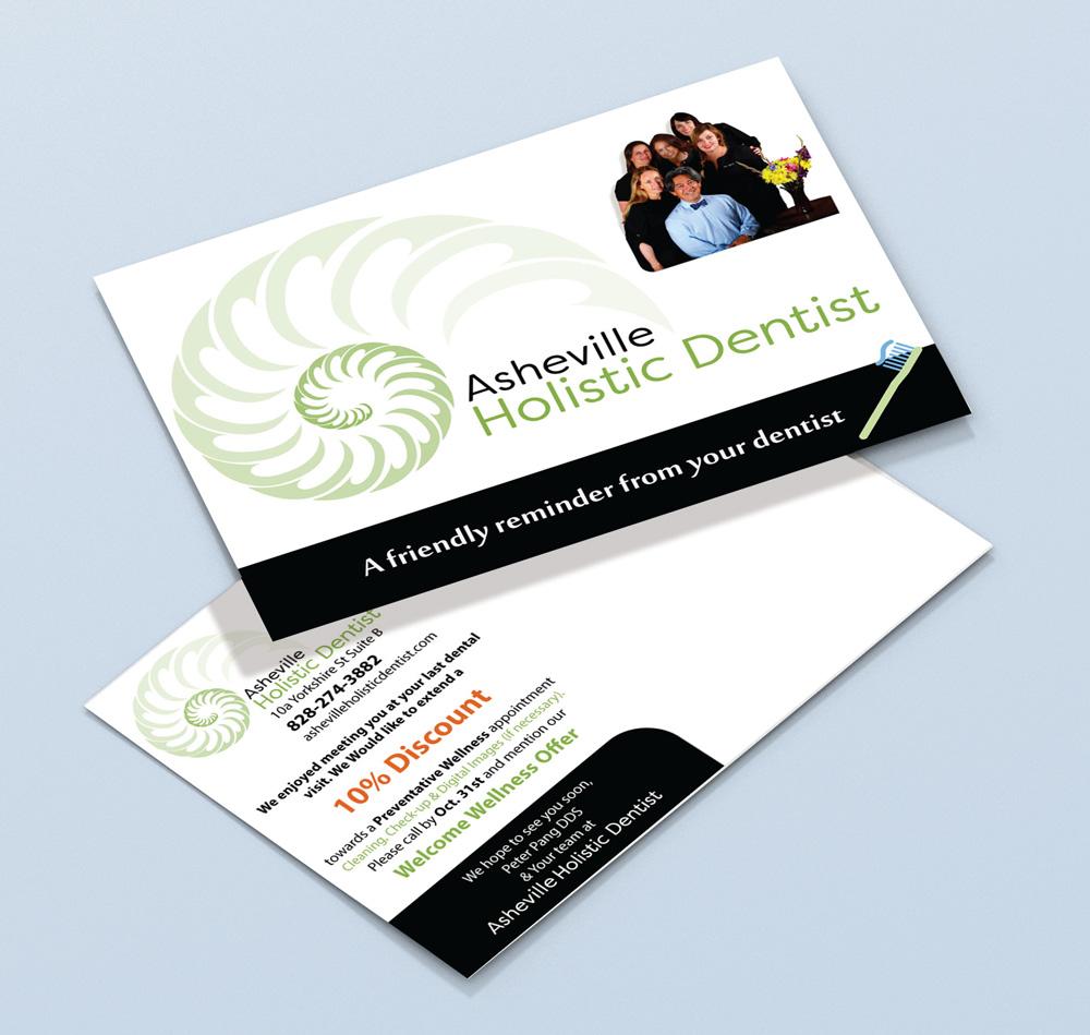 Asheville Postcard Design by IrishGuy Design Studio