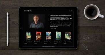 Website Design for Writer - Robert Beatty
