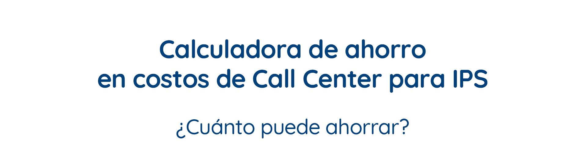Call center ips