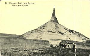 Chimney Rock Near Bayard North Platte