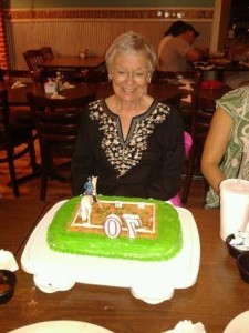 Suzanne's birthday