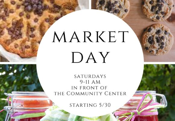 Market Day on Saturdays!