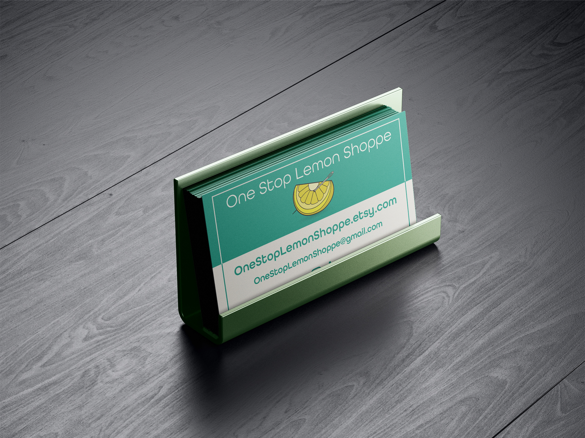 Business Cards for One Stop Lemon Shoppe