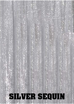 Silver Sequin Background