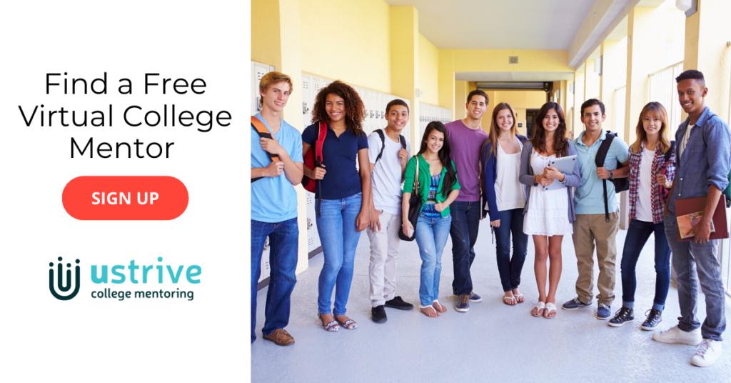 virtual college mentor ustrive