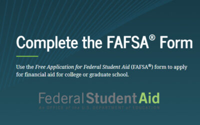 FAFSA Now Open for 2021-2022 Academic Year