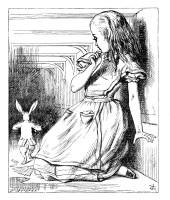 Alice in Wonderland eat me