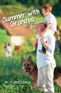 Tony Taylor and Summer with Grandpa by B.C Mullins