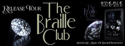 the braille club poster