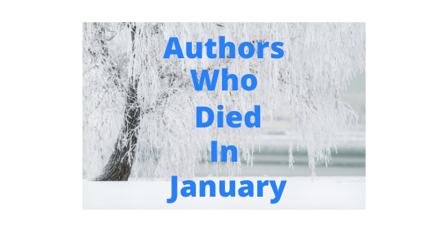 Feature Image - Authors who died in january