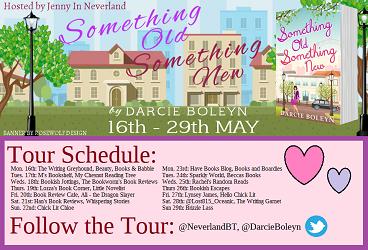 Something Old Something New blog tour poster