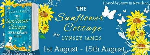 The Sunflower cottage poster