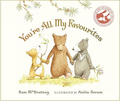 Youre all my favourites by Sam McBratney