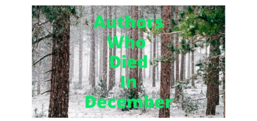 Feature Image - Authors who died in December