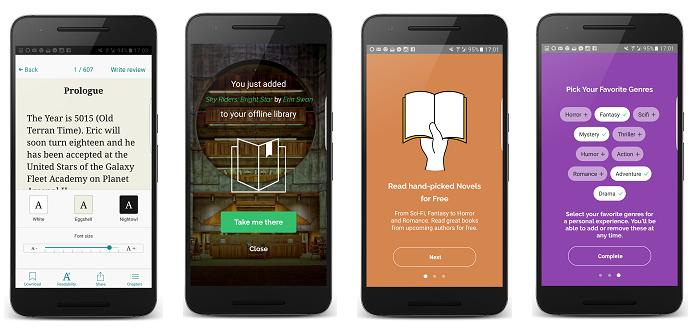 Inkitt app launch