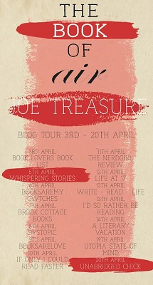 The Book of Air by Joe Treasure tour poster