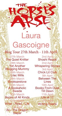 The Horse's Arse by Laura Gascoigne tour poster