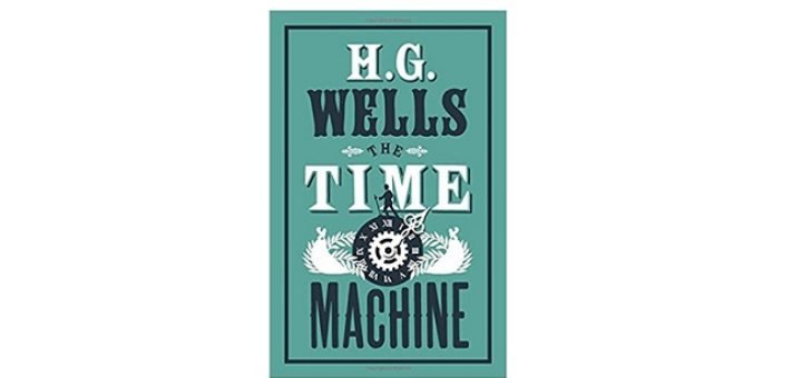 Feature Image - The Time Machine by H.G. Wells