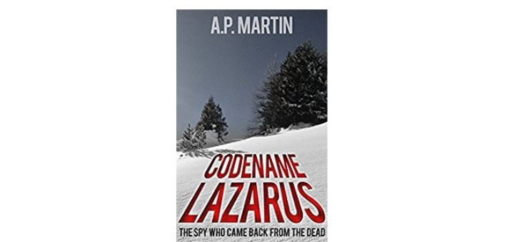 Feature Image - Codename Lazarus by A.P Martin