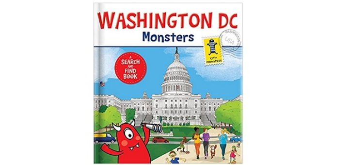 Feature Image - Washington DC Monsters by Rebecca K Moeller