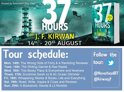 37 hours by j f kirwan Schedule Graphic