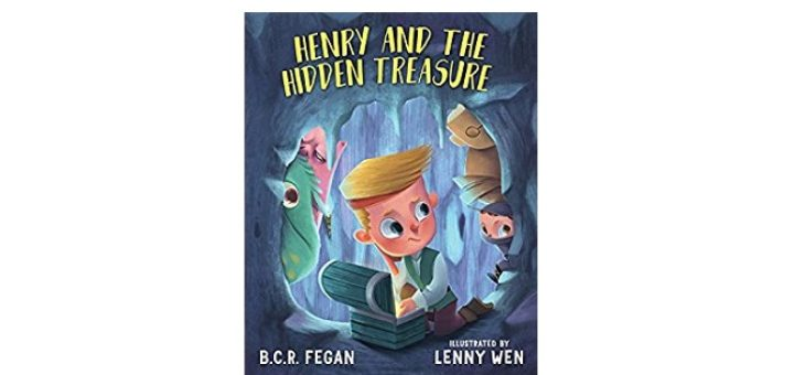 Feature Image - Henry and the hidden treasure by B C R Fegan