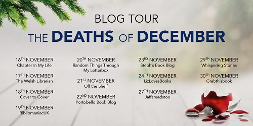 deaths of December tour poster