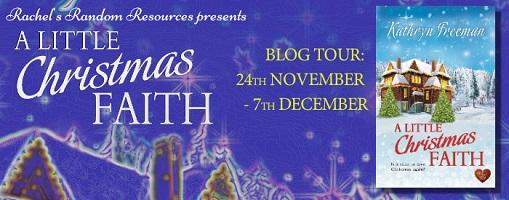 A Little Christmas Faith Initial Banner