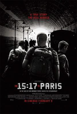 15 17 to paris poster